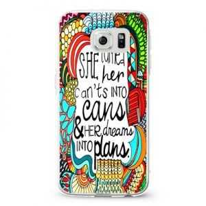 She turned her can'ts into cans Design Cases iPhone, iPod, Samsung Galaxy