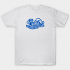 Cool Clyde's Waterslide BLUE tee shirt