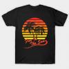 Fun In The Sun 80s Tropical Sunset tee shirt