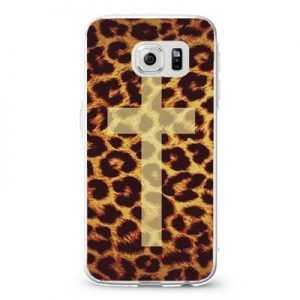 Leopard cheetah cross_4 diesel Design Cases iPhone, iPod, Samsung Galaxy