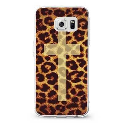 Leopard cheetah cross_4 diesel Design Cases iPhone, iPod, Samsung Galaxy