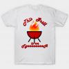 Grill Fire tee shirt