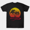Playa del Carmen 80s Sunset tee shirt