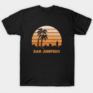 Retro Junipero Tour tee shirt