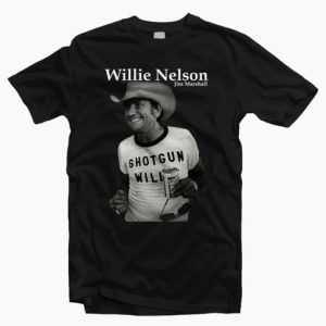 Retro Shotgun Willie Nelson tee shirt