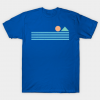 Retro sunrise tee shirt
