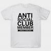 Anti Social Club tee shirt