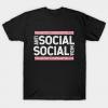 Anti social social media unisex tee shirt