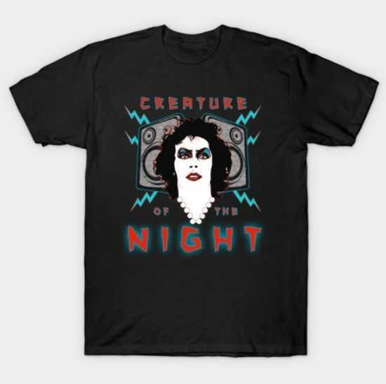 Creature of the Night tee shirt