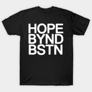 Hope Beyond Boston tee shirt