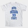 Larry Bird Indiana State 33 tee shirt