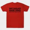 Michigan Marching tee shirt