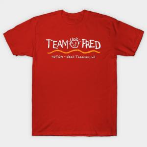 Team Fred tee shirt