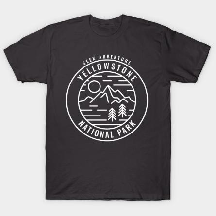 Yellowstone National Park tee shirt