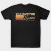 Yellowstone National Park Wyoming tee shirt