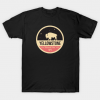 Yellowstone Park Badge tee shirt