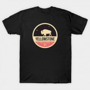 Yellowstone Park Badge tee shirt