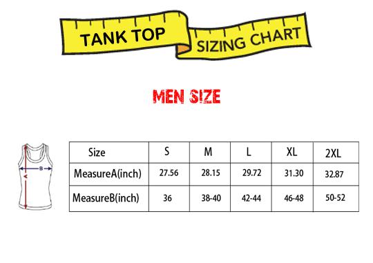tank top men size