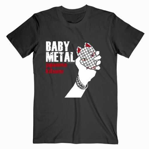 Babymetal Parody Logo Music tee shirt