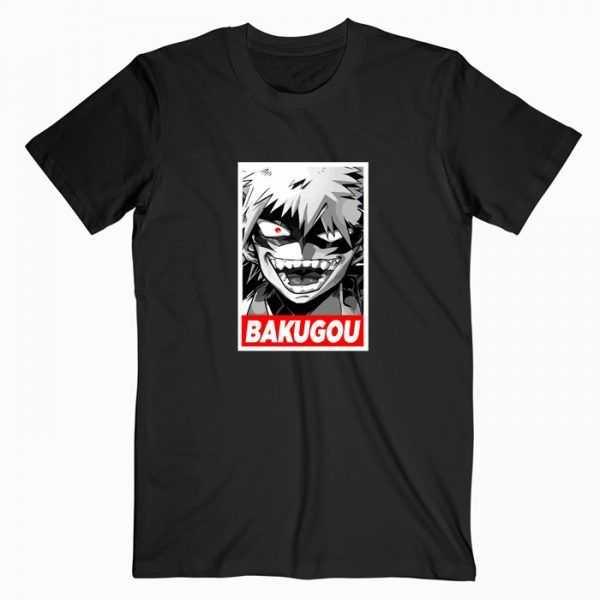 Bokugou Katsuki My Hero Academia Anime tee shirt
