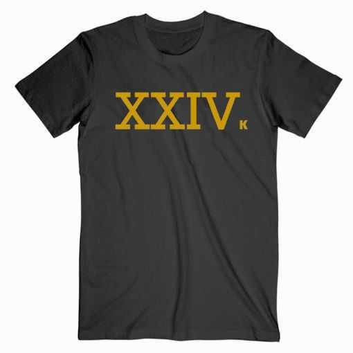 Bruno Mars XXIV tee shirt