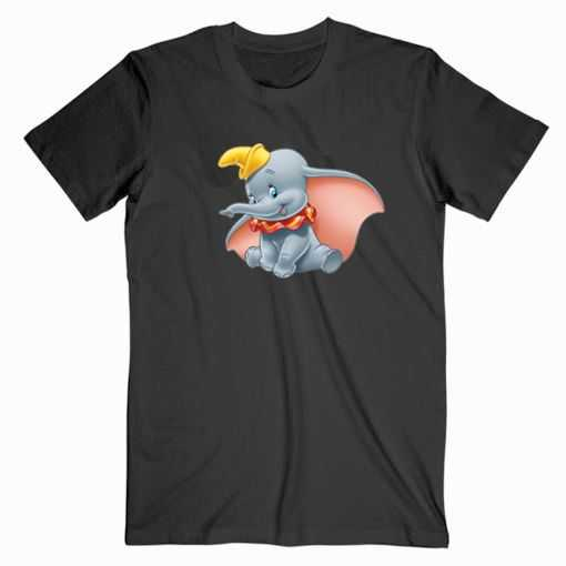 Dumbo Cartoon Vintage tee shir