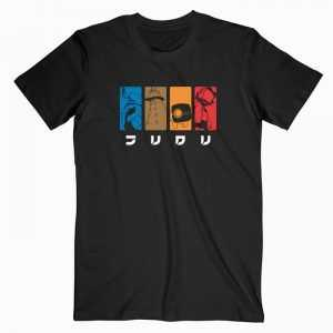 FLCL Fooly Cooly Anime tee shirt