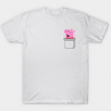 PEPPA! What are you doing in my pocket tee shirt