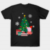 Peppa Pig Around The Christmas Tree tee shirt