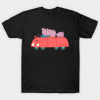 Peppa Pig and Family in the Car tee shirt