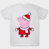 Peppa pig christmas tee shirt