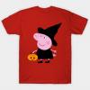 Peppa pig halloween tee shirt