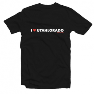 UTAHLORADO tee shirt