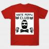 White Peppa Club tee shirt