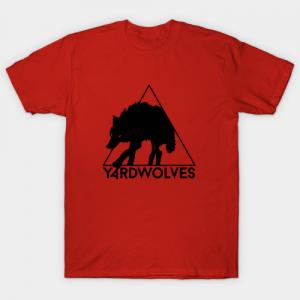 Yardwolves tee shirt