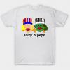 Salty and pepe tee shirt