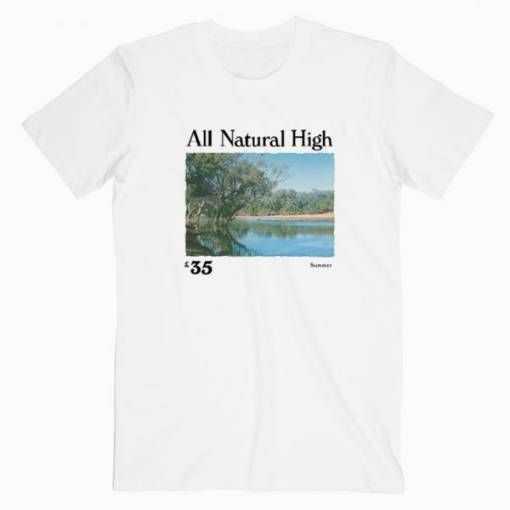 All Natural High Lake tee shirt