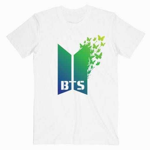 BTS Butterfly Music tee shirt