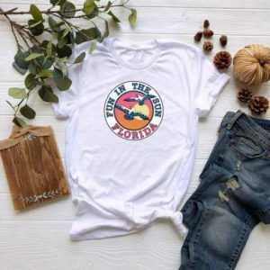 Fun In The Sun Florida Beach tee shirt