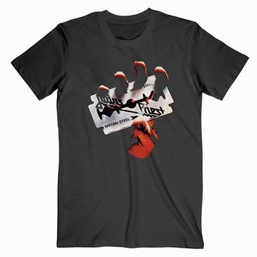 Judas Priest British Steel tee shirt