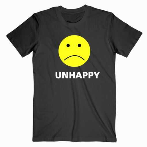 Lil Pump Unhappy Face tee shirt