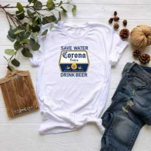Save Water Drink Beer Corona tee shirt