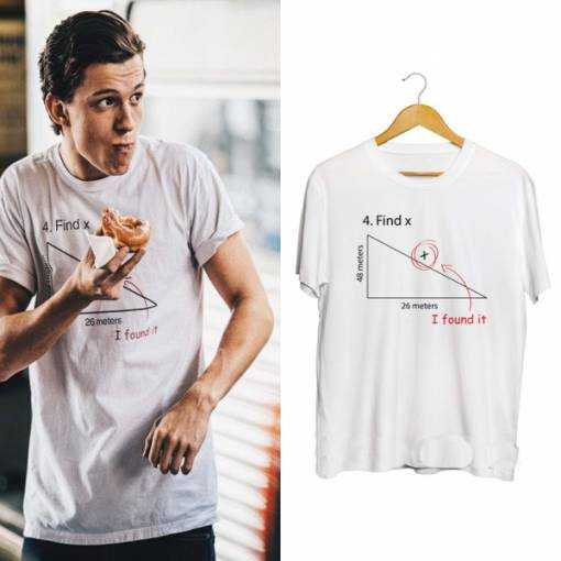 Tom Holland Find X tee shirt