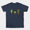 Cacti familly ready for christmas tee shirt