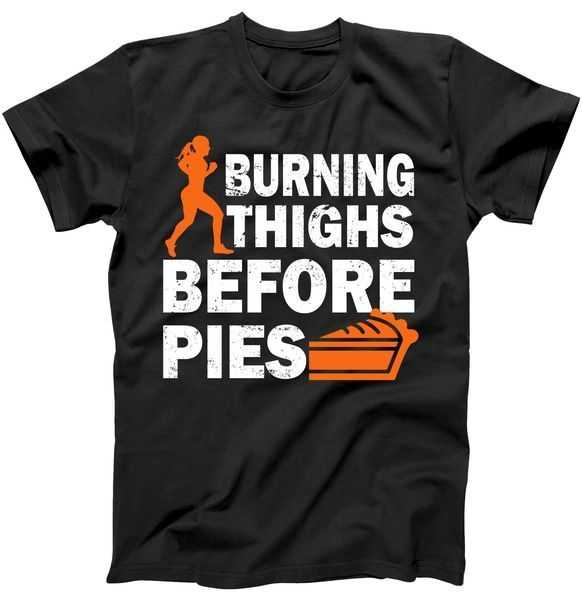 Burning Thighs For Christmas Pies tee shirt