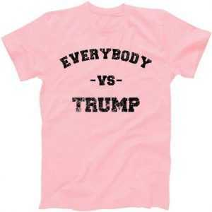 Distressed Everybody VS Trump tee shirt