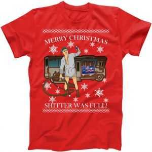 Donald Trump Cousin Eddie Shitter Was Full tee shirt