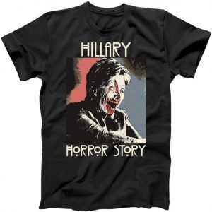Hillary Horror Story Donald Trump For President 2016 tee shirt