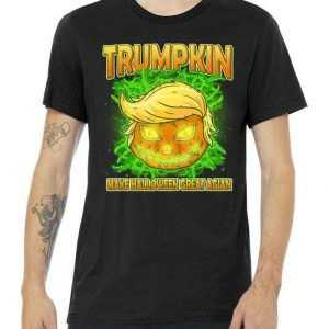 Make Halloween Great Again Trumpkin tee shirt