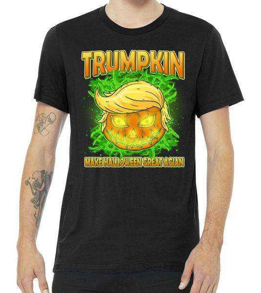 Make Halloween Great Again Trumpkin tee shirt